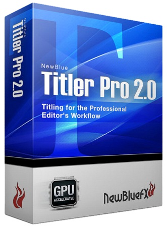 دانلود پلاگین NewBlue Titler Pro v2.0