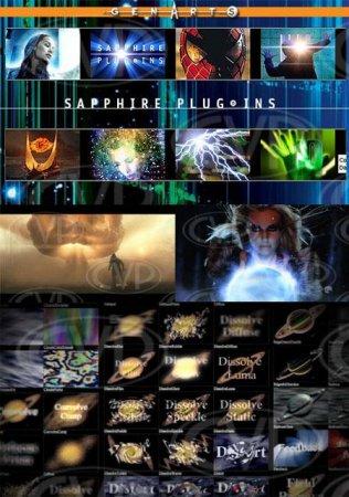 دانلود ورژن جدید پلاگین افتر افکت-Genarts Sapphire v7.03