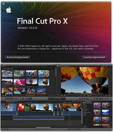 دانلود نرم افزار قدرتمند Final Cut Pro X 10.0.9 Full به همراه پک کامل پلاگین ها