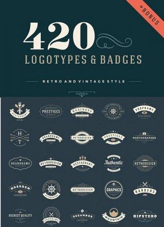 دانلود مجموعه 420 طرح آماده مخصوص ساخت لوگو شما