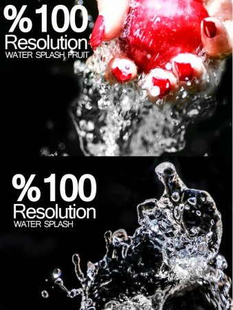 دانلود مجموعه عکس های استوک با موضوع پاشیدن آب