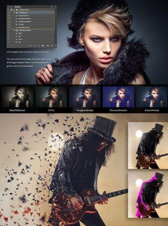 دانلود اکشن زیبای فتوشاپ مخصوص طراحی عکس های شما