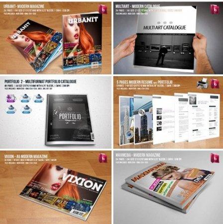 دانلود مجموعه آلبوم های آماده مخصوص نرم افزار Adobe Indesign