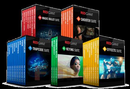 دانلود پک جدید و کامل پلاگین های RedGiant 2016