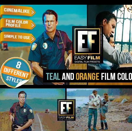 دانلود پریست حرفه ای افتر افکت مخصوص تنظیم رنگ فیلم و عکس