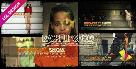 دانلود پروژه زیبای افتر افکت-The House Backflip Show