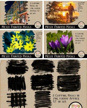 دانلود فریم های آماده آب رنگی مخصوص عکس ها و طراحی های شما