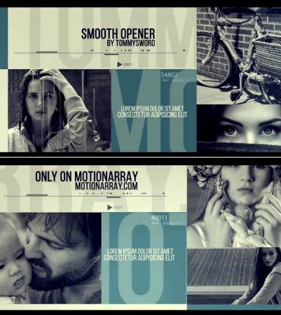 دانلود پروژه زیبای افتر افکت مخصوص شروع و معرفی فیلم-Smooth Opener
