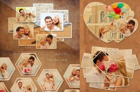 دانلود مجموعه فریم های عاشقانه مخصوص عکس های شما