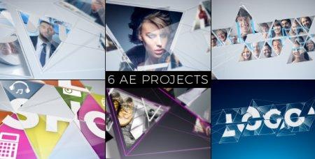 دانلود پروژه آماده افتر افکت-Mosaic Pack