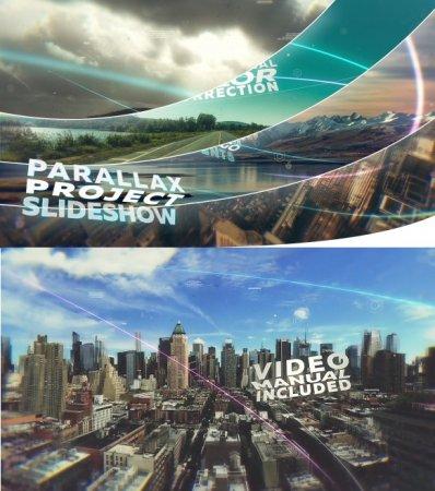 دانلود پروژه اسلایدشو افتر افکت با نام Parallax Slideshow