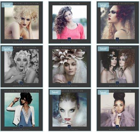 دانلود ست کامل و حرفه ای اکشن های آماده فتوشاپ مخصوص تنظیم رنگ عکس