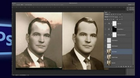 دانلود آموزش ترمیم پیشرفته عکس در فتوشاپ