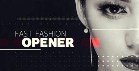 دانلود پروژه افتر افکت fast fashion