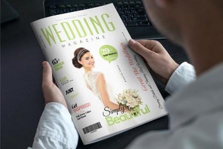 دانلود تمپلیت مجله عروسی