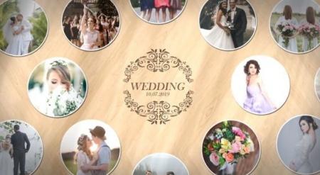 دانلود پروژه آماده افتر افکت عروسی Photo Wall