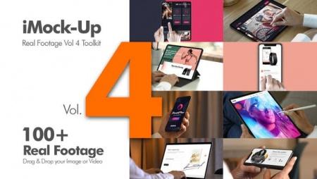 دانلود پروژه آماده افتر افکت تیزر تبلیغاتی iMock-Up