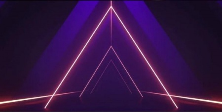 فوتیج آماده Triangle Shapes VJ Loop