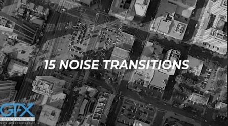 ترانزیشن پریمیر 15 Noise Transitions